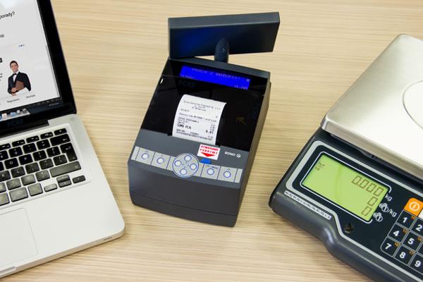 Drukarka fiskalna Novitus Bono E - Współpracuje równocześnie z wieloma urządzeniami peryferyjnymi